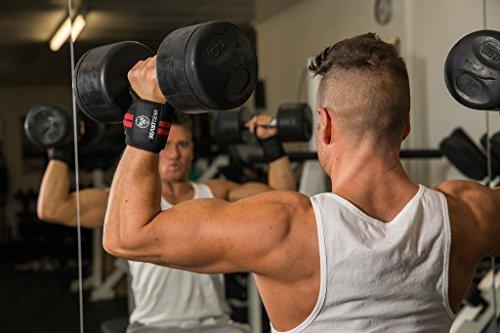 Beast-Gear-Handgelenkbandage--2x-Handgelenksttze-Wrist-Wraps-fr-Sport-Fitness-Bodybuilding-Stabilisierend-Schtzend-auch-bei-sehr-hohen-Gewichten-Belastungen-0-2