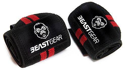 Beast-Gear-Handgelenkbandage--2x-Handgelenksttze-Wrist-Wraps-fr-Sport-Fitness-Bodybuilding-Stabilisierend-Schtzend-auch-bei-sehr-hohen-Gewichten-Belastungen-0-7