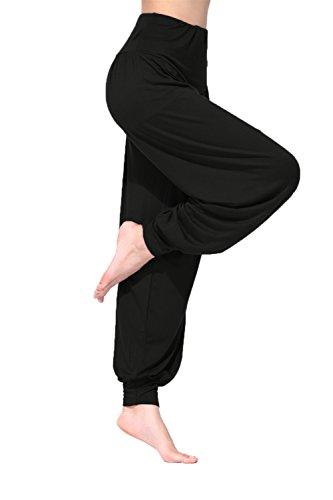 BeautyWill-Haremshose-Jogginghose-Yoga-Pilates-Hosen-Freizeithosen-Weiche-Modal-Lange-Hose-fr-Damen-0-2