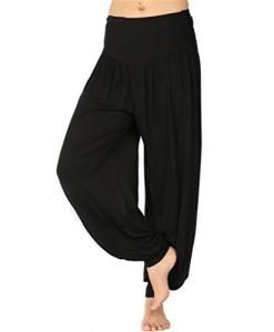 BeautyWill-Haremshose-Jogginghose-Yoga-Pilates-Hosen-Freizeithosen-Weiche-Modal-Lange-Hose-fr-Damen-0