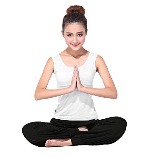 BeautyWill-Haremshose-Jogginghose-Yoga-Pilates-Hosen-Freizeithosen-Weiche-Modal-Lange-Hose-fr-Damen-0-3