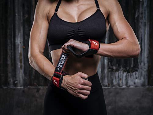 Climaqx-Profi-Fitness-Zughilfen-Ultra-Grips-Fr-Kraftsport-Crossfit-Powerlifting-Entwickelt-fr-Harte-Trainings-Integrierte-Handbandage-0-5