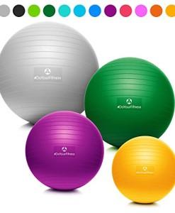 DoYourFitness-Gymnastikball-inkl-Luftpumpe-55cm-65cm-75cm-o-85cm-100-Berstsicher-150kg-Belastbarkeit-robuster-Sitzball-Brostuhl-Fitnessball-0