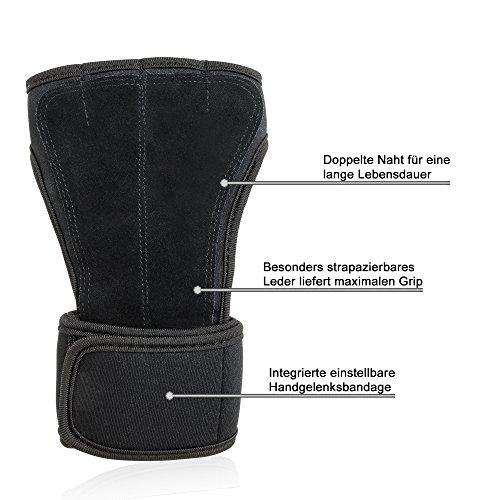 FULL-GRIP-Fitness-Handschuhe-mit-sttzender-Handgelenkbandage-Trainingshandschuhe-fr-Crossfit-und-Kraftsport-mit-Einer-Handinnenflche-aus-Leder-0-1