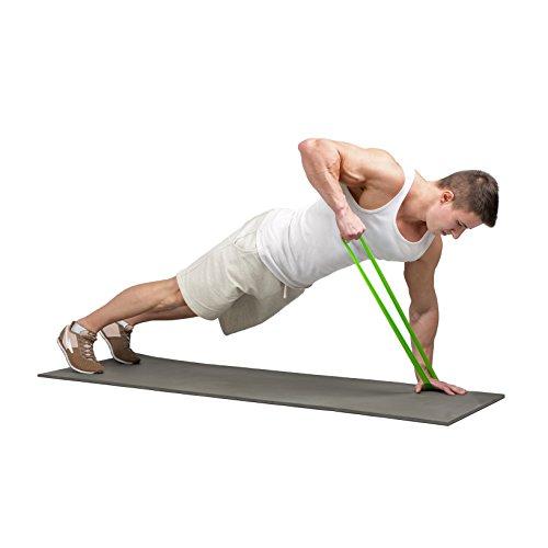 Fitnessbnder-Widerstandsbnder-4er-Set-von-Panathletic-mit-Anleitung-eBook-auf-Deutsch-und-Tragebeutel--4x-Fitnessband-Widerstandsband-Gymnastikband-Trainingsband-bungsband-Fitness-Band-Gymnastikbnder--0-0