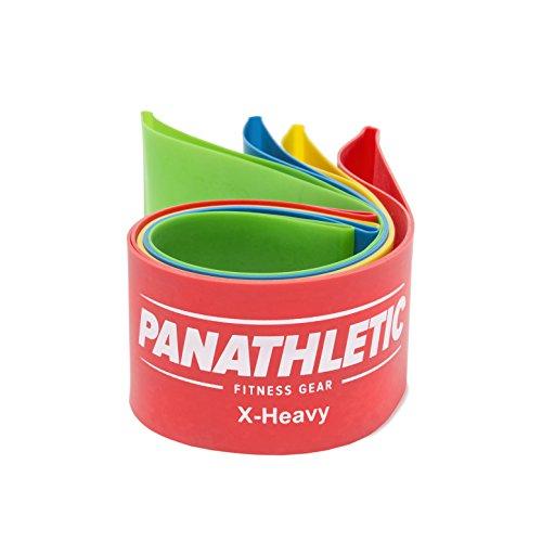 Fitnessbnder-Widerstandsbnder-4er-Set-von-Panathletic-mit-Anleitung-eBook-auf-Deutsch-und-Tragebeutel--4x-Fitnessband-Widerstandsband-Gymnastikband-Trainingsband-bungsband-Fitness-Band-Gymnastikbnder--0-2