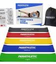 Fitnessbnder-Widerstandsbnder-5er-Set-von-Panathletic-mit-Anleitung-eBook-auf-Deutsch-und-Tragebeutel--5x-Fitnessband-Widerstandsband-Gymnastikband-Trainingsband-bungsband-Fitness-Band-Gymnastikbnder--0