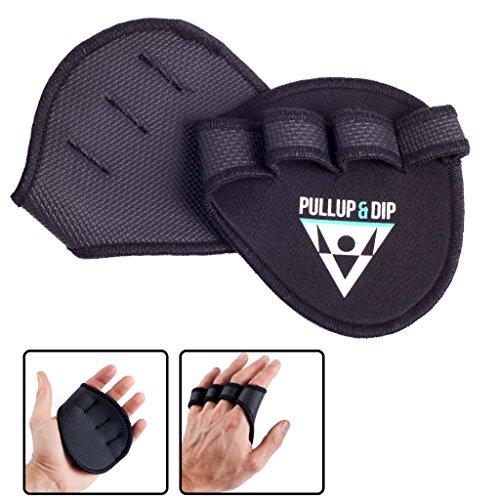 PULLUP-DIP-Griffpolster-Griffpads-fr-Klimmzge-Fitness-Bodybuilding-Krafttraining-1-Paar-Neopren-Grip-Pads-Trainings-Pads-als-Alternative-zu-Trainingshandschuhen-fr-maximalen-Griff-0