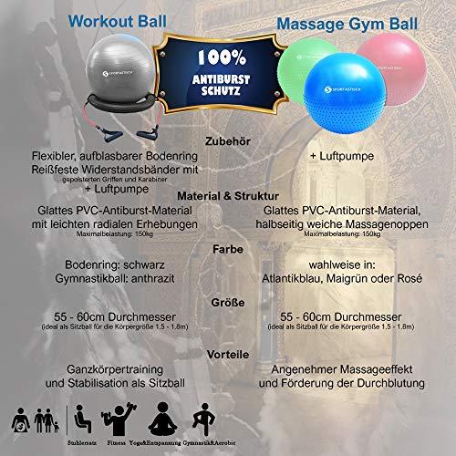 Sportastisch-AUSGEZEICHNETER-Gymnastikball-Variante-mit-Ring-und-Widerstandsbndern-oder-Noppen-55-60cm-Sitzball-Ideal-zum-Sport-und-frs-Bro-Bonus-E-Book-Bis-zu-3-Jahre-Garantie-0-1