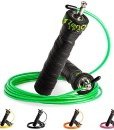 ZenRope-Speed-Rope-Springseil-Sport-mit-Profi-Kugellager-I-Gratis-E-Book-Extra-Stahlseil-Tasche-Einstiegsguide-I-Seilspringen-fr-Erwachsene-I-Crossfit-Boxen-Sport-und-Training-0