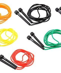 trenas-Original-Speed-Rope-3-Meter-Blau-Grn-Schwarz-Rot-Gelb-Orange-0