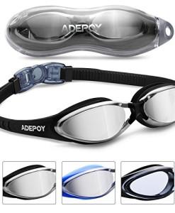 Adepoy-Schwimmbrillen-mit-UV-Schutz-und-Antibeschlag-Schutz-Bequem-Schwimmbrillen-fr-Erwachsene-0