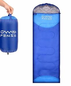 CampFENSE-Schlafsack-Deckenschlafsack-180-75-cmTemperatur-Bewertung-30--60--Reiverschluss-Design-Stabil-Leicht-mit-Kleinem-Packma-in-Tragetasche-0