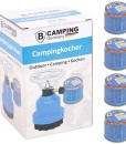 Campingkocher-E190-Gaskocher-Metall-mit-4X-Gas-0