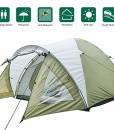 Climecare-Kuppelzelt-2-3-4-Personen-Zelte-3-Jahreszeiten-Kuppelzelt-Outdoor-Campingzelt-Iglu-Zeltdoppelschichtig-Wasserdichtes-210x210x135cm-0