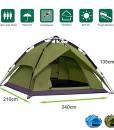 Climecare-Wurfzelt-2-3-4-Person-Sekundenzelt-Camping-Zelt-Outdoor-Pop-up-250x220x140cm-GrnBlau-0