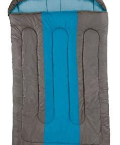 Coleman-Schlafsack-Hudson-Double-XXL-Deckenschlafsack-Camping-leichter-Sommerschlafsack-fr-2-Personen-Outdoor-und-Indoor-nutzbar-Komforttemperatur-7-C-235-x-150-cm-0