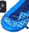 Deckenschlafsack-fr-Outdoor-und-Camping-Kompakt-und-warm-Schlafsack-ideal-fr-Trekking-Sommerschlafsack-fr-Festival-Komfort-bis-10-C-Survival-Sleeping-Bag-220x75-cm-0