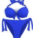 EONAR-Damen-Seitlich-Gebunden-Bikini-Sets-Abnehmbar-Bademode-Push-up-Bikinioberteil-mit-Nackentrger-0