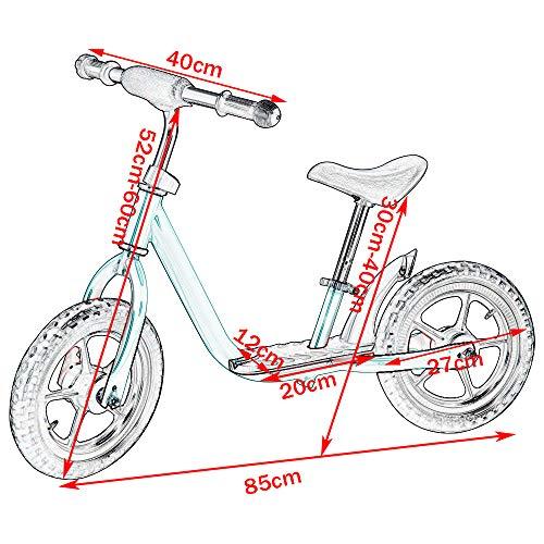 Elightry-Kinder-Laufrad-10-Zoll-fr-Jungen-und-Mdchen-ab-2-Jahren-Blau-Gelb-Rot-Rosa-Lila-Mint-0-1