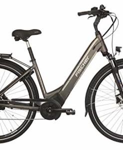 FISCHER-E-Bike-City-CITA-60i-2019-platingrau-matt-28-RH-44-cm-Brose-Mittelmotor-50-Nm-36V-Akku-im-Rahmen-0
