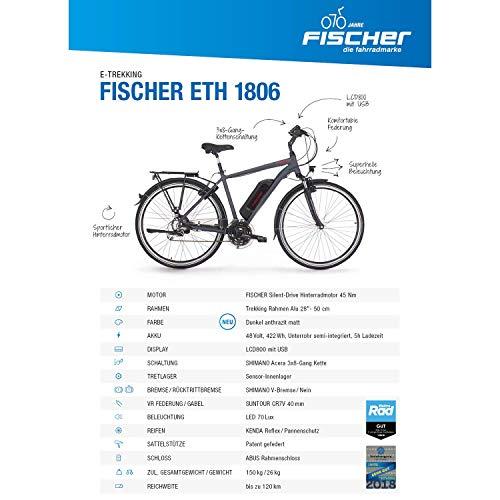 FISCHER-Herren-E-Bike-Trekking-ETH-1806-2019-anthrazit-matt-28-RH-50-cm-Hinterradmotor-45-Nm-48V-Akku-0-0