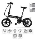 Nilox-X2-E-bike-Elektrofahrrad-Herren-Damen-Pedelec-E-Bike-Folding-Elektrofahrrad-City-Elektrofahrrad-16-Inch-LED-lighting-25-kmh-0