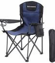 SONGMICS-Campingstuhl-klappbar-Klappstuhl-mit-hoher-Rckenlehne-mit-Flaschenhalter-und-Khltasche-komfortabel-Robustes-Gestell-bis-250-kg-belastbar-Outdoor-Stuhl-0