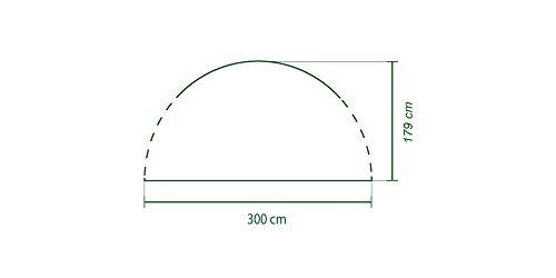 Seitenwand-fr-Coleman-Event-Shelter-M-3-x-3-m-1-Pavillon-Seitenteil-Seitenplane-dient-auch-als-Sonnenschutz-Wasserabweisend-Grn-0-1