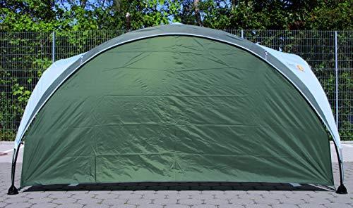 Seitenwand-fr-Coleman-Event-Shelter-M-3-x-3-m-1-Pavillon-Seitenteil-Seitenplane-dient-auch-als-Sonnenschutz-Wasserabweisend-Grn-0-3