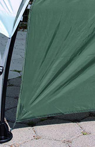 Seitenwand-fr-Coleman-Event-Shelter-M-3-x-3-m-1-Pavillon-Seitenteil-Seitenplane-dient-auch-als-Sonnenschutz-Wasserabweisend-Grn-0-6