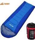 Semoo-Schlafsack-Deckenschlafsack-3-Jahreszeiten-Schlafsack-210-x-75-cm-Mehrere-Farben-zur-Auswahl-0