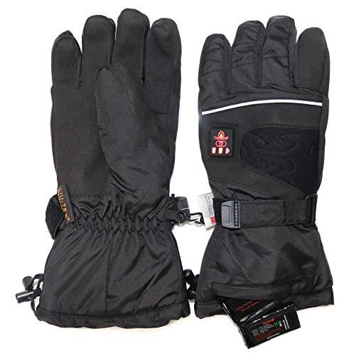 Beheizbare-Handschuhe-mit-4-Stufen-Temperaturregler-wasserabweichend-atmungsaktive-mit-3M-Thinsulate-und-TPU-Membran-Akkubetrieb-0-0