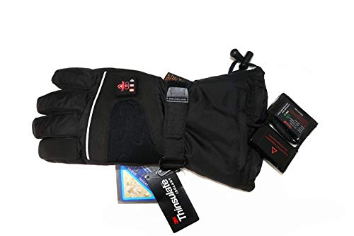 Beheizbare-Handschuhe-mit-4-Stufen-Temperaturregler-wasserabweichend-atmungsaktive-mit-3M-Thinsulate-und-TPU-Membran-Akkubetrieb-0-1