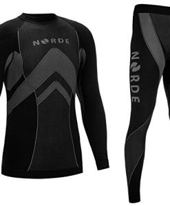 Norde-THERMOTECH-Herren-Funktionswsche-Thermoaktiv-Atmungsaktiv-Base-Layer-Set-Outdoor-Radsport-Running-0