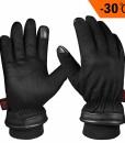 OZERO-WinterhandschuheWasserdicht-Thermo-Lederhandschuhe-mit-Touchscreen-Fingerspitzen-fr-SkiRadfahrenLauf-und-Arbeitfr-Herren-0