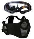 Fansport-Paintball-Maske-Airsoft-Masken-Softair-Maske-Mesh-Maske-Airsoft-Paintball-Maske-Schutzbrille-Airsoft-Taktische-Maske-Paintball-Schutzbrille-Klar-Stahl-Maske-Berbrille-Airsoft-Mesh-Maske-0