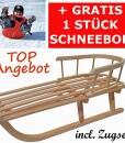 Holzschlitten-mit-Rckenlehne-Kinderschlitten-Lehne-Zugseil-Rodel-aus-Holz-Schneebob-Gratis-von-rg-vertrieb-0