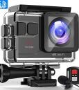 Victure-AC700-Action-Cam-4K-16Mp-wasserdichte-40M-Unterwasserkamera-WiFi-helmkamera-mit-EIS-Sensor-24G-Fernbedienung-externem-Mikrofon-und-Montage-Zubehr-Kit-0