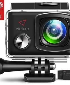 icture-Action-Cam-4K-20MP-WiFi-Touch-Screen-Ultra-Full-HD-30-Meters-Unterwasserkamera-Einstellbare-170Fischaugen-Linse-EIS-Sports-Kamera-21350mAh-Ersatzbatterien-and-Halterungs-Kit-0
